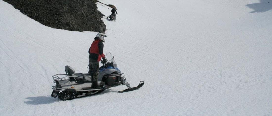 overnight snowmobile