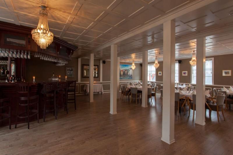 Restaurant Reykjavik Brown room