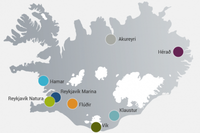 Icehotels overview map
