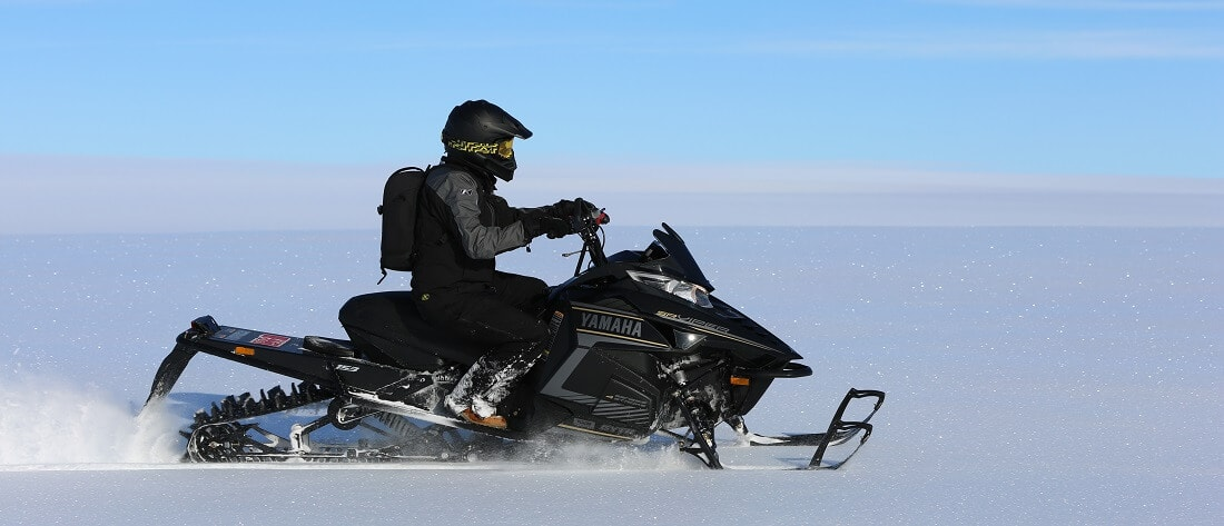 Full day snowmobile adventure