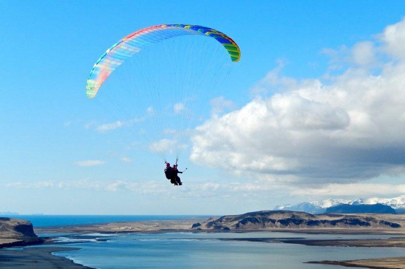 Paragliding Reykjavik featured