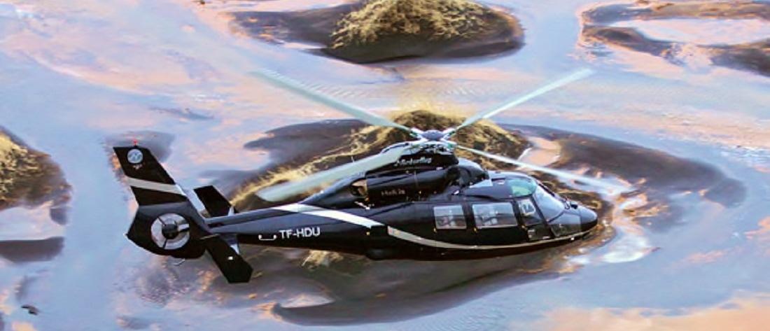 mývatn helicopter