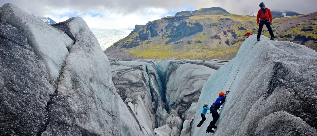 Skaftafell Ice climbing