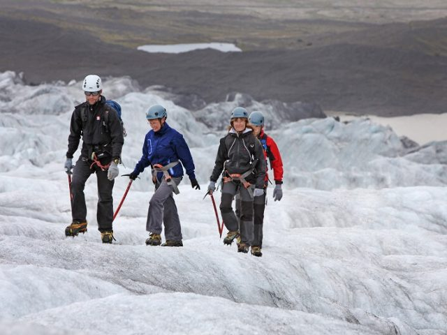 Skaftafell glacier walk
