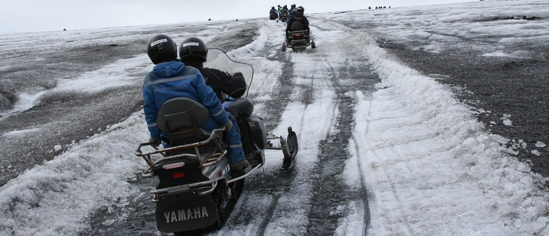 langjoekull glacier tour