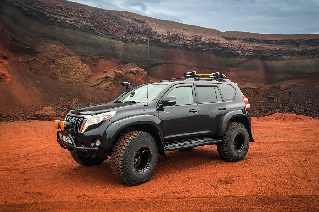 Iceland Super Jeep Tours - Toyota Land Cruiser