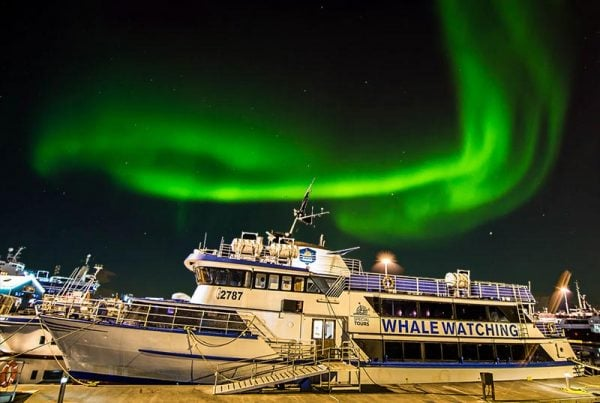Northern Lights Boat Tour: Our boat