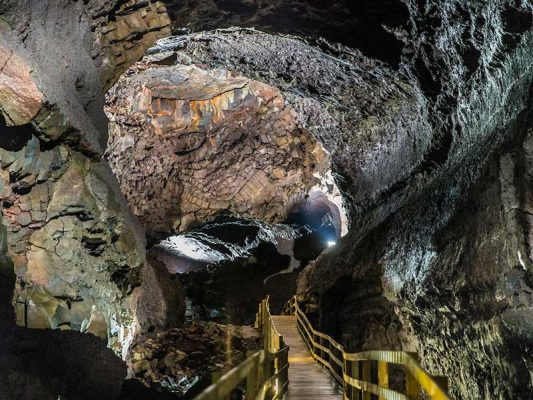 The lava cave