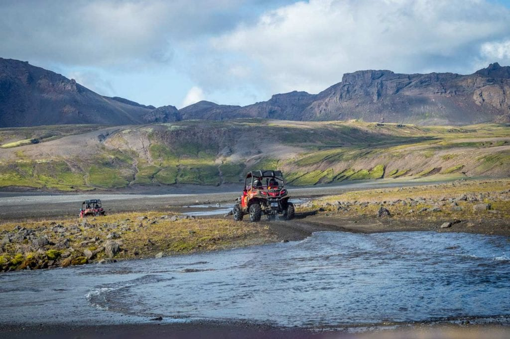 Driving in a Buggy around the Golden Circle is one of the best things to do in Iceland