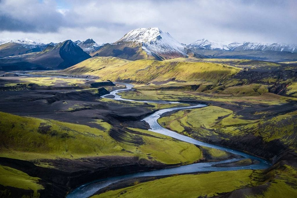 One of the best things to do in Iceland: seeing the country from above