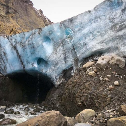 You'll visit Gigjokull outlet glacier on the Private Thorsmork Tour