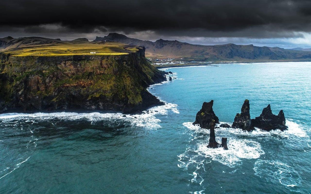Reynisdrangar basalt rocks - south coast private tour