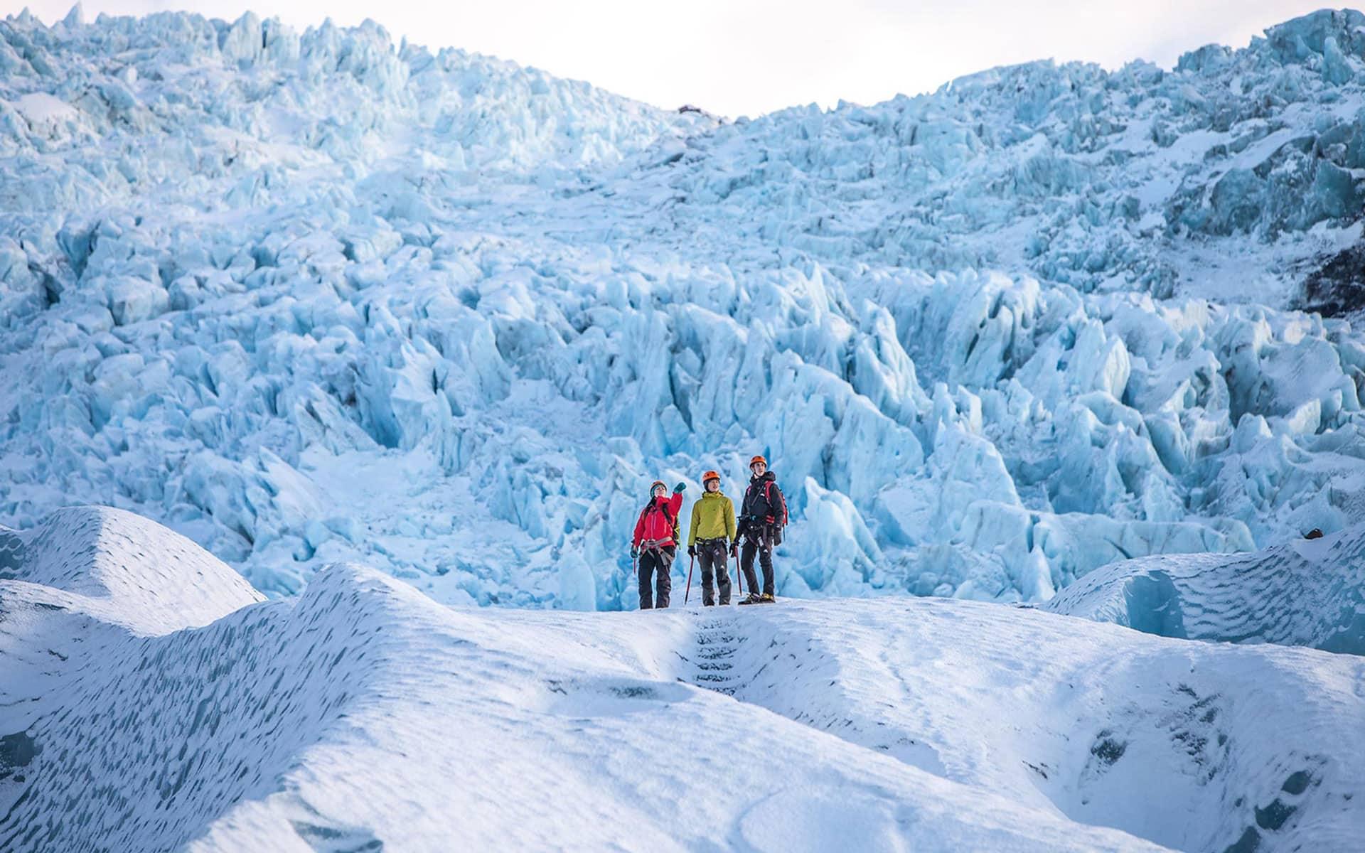 Glacier Adventure in Iceland