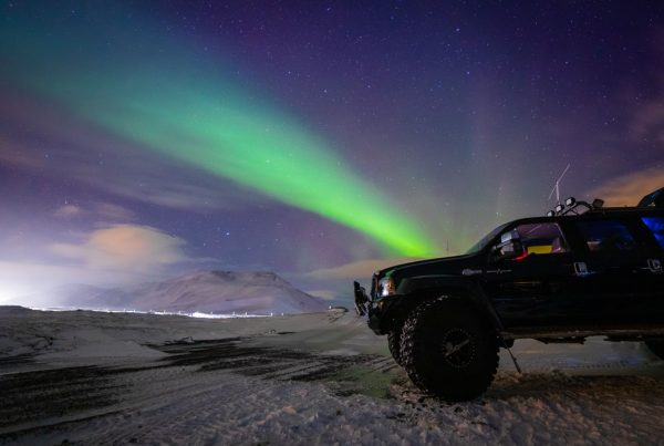 Private Northern Ligths tour in Iceland by Super Jeep