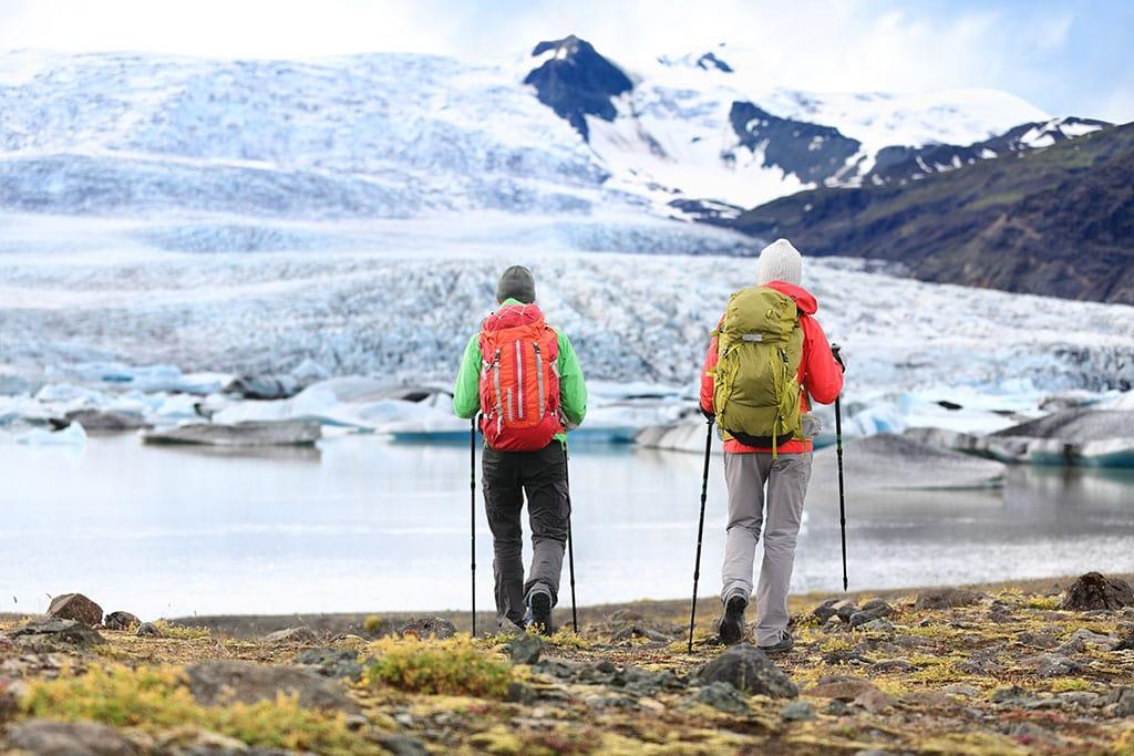 Fjallsarlon glacier lagoon in South Iceland