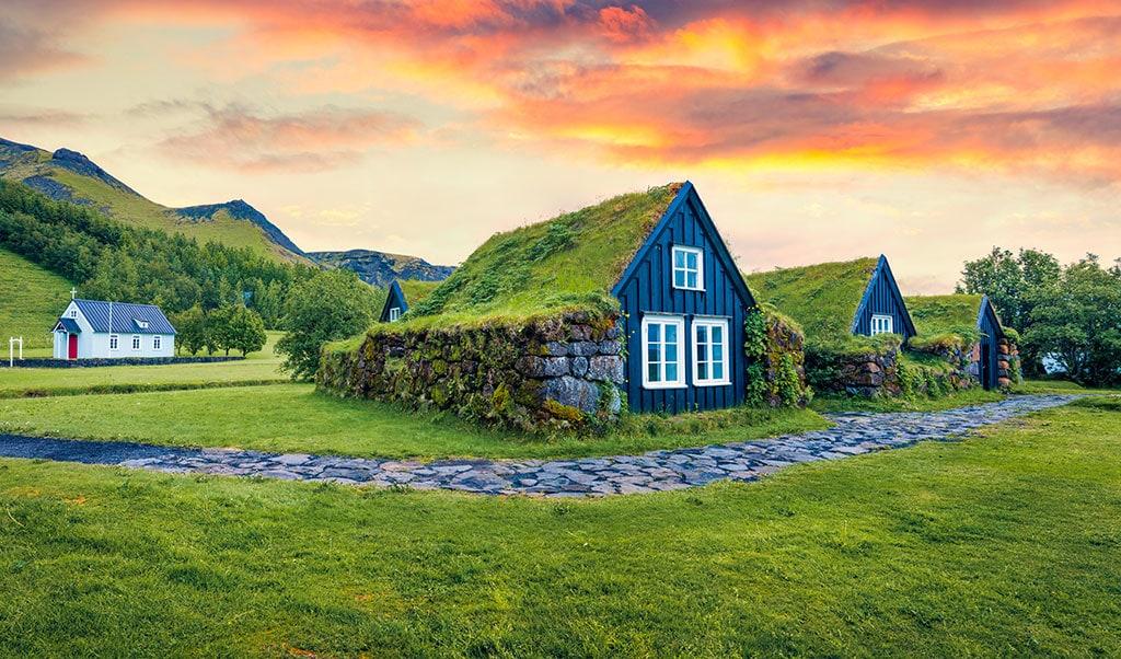 Skógar Museum in South Iceland