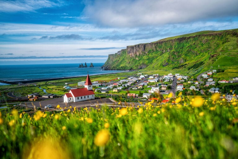 Iceland South Coast - Vík landscape