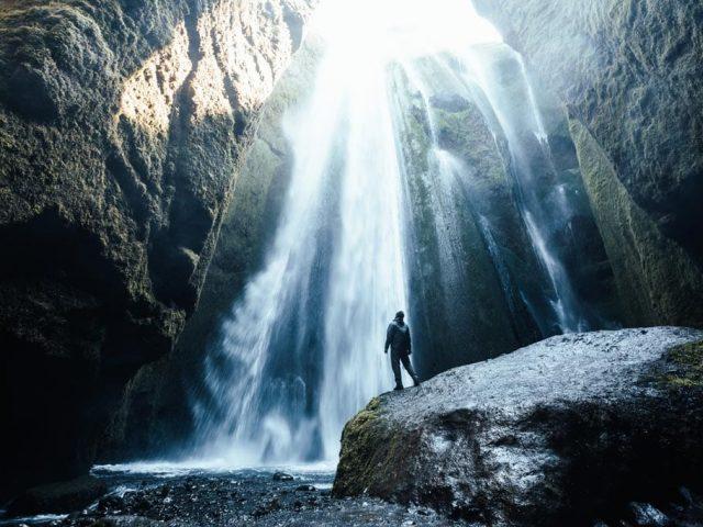 Iceland-Private-Thorsmork-Tour-Gljufrabui-SS1-waterfall