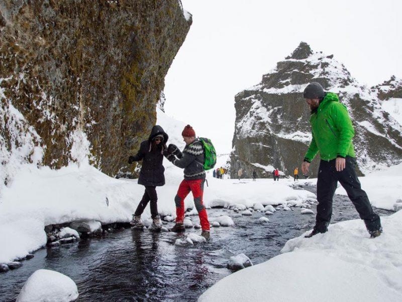 Iceland-Private-Thorsmork-Tour-winter-walk