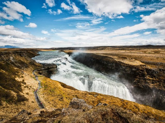 Iceland-private-golden-circle-tour-Gullfoss-autumn