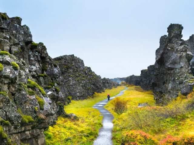 Iceland-private-golden-circle-tour-Thingvellir-between-continents-SS1-summer
