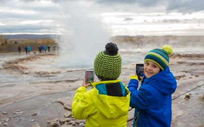 Golden Circle geysir - Iceland