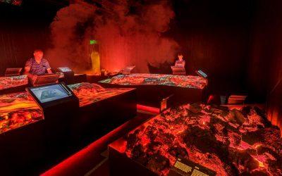 Lava Centre Interactive Exhibition